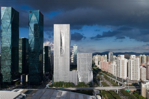 BIG's Shenzhen Energy Mansion Is A Green Landmark In China's Silicon Valley