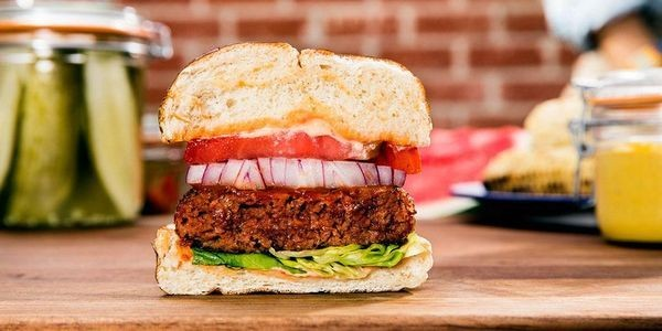 This Vegan Brand Just Proved That Plant-Based Burgers Are More Sustainable Than Those Made Of Beef