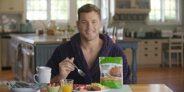 """The Bachelor"" Star Colton Underwood Kicks Off MorningStar Farms Campaign"