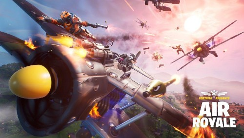 Fortnite's 'Air Royale' Is Basically A Whole New Game, And It's Awesome