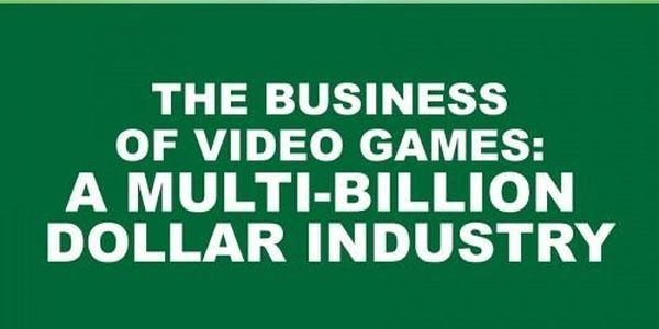 The Business Of Video Games: A Multi Billion Dollar Industry [Infographic]