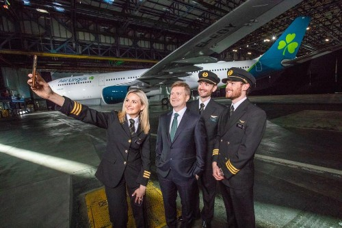 Aer Lingus Unveils A New Livery And Transatlantic Ambitions
