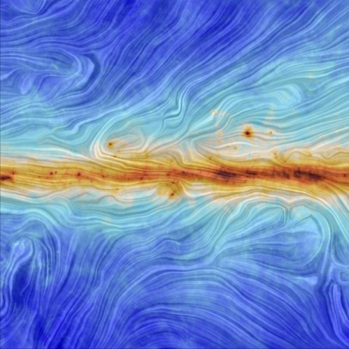 This Is What The Milky Way's Magnetic Field Looks Like
