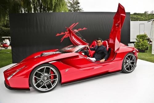 Enzo Ferrari Designer Stuns Monterey With Breathtaking Kode 57 Supercar