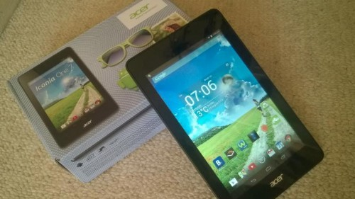 Acer Iconia One 7: An Android Tablet For Your Adventurous Weekends