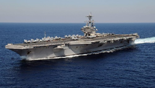 Ten Reasons A U.S. Navy Aircraft Carrier Is One Of The Safest Places To Be In A War