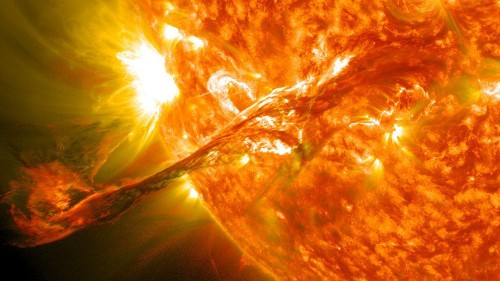 Early Sun's 'Goldilocks' Rotation Rate May Be Why We're Here