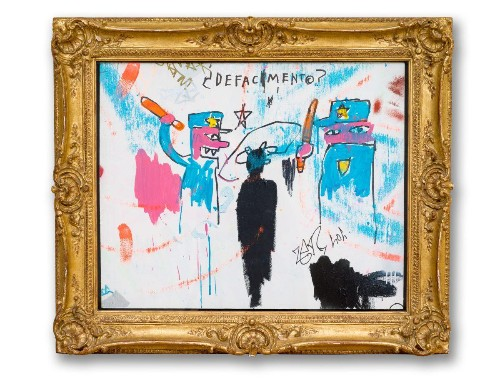 """Basquiat Under New Lens: Timely Exploration Of Race Identity, Activism In Little-Seen """"Defacement"""""""