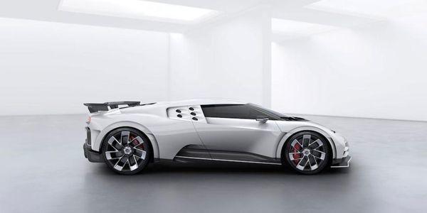 The $8 Million Bugatti Centodieci's Radical Design Captures The Spirit Of The EB110
