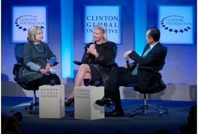 'Growth and Comfort Never Co-Exist': Clinton Global Initiative Panelist
