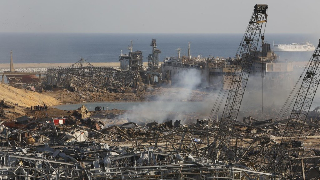 Lebanon To Arrest Beirut Port Officials After Ammonium Nitrate Explosion