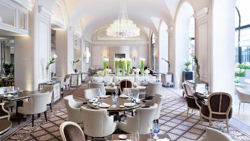 Four Seasons Paris Is Europe's First Hotel With Three Michelin-Starred Restaurants And Five Stars