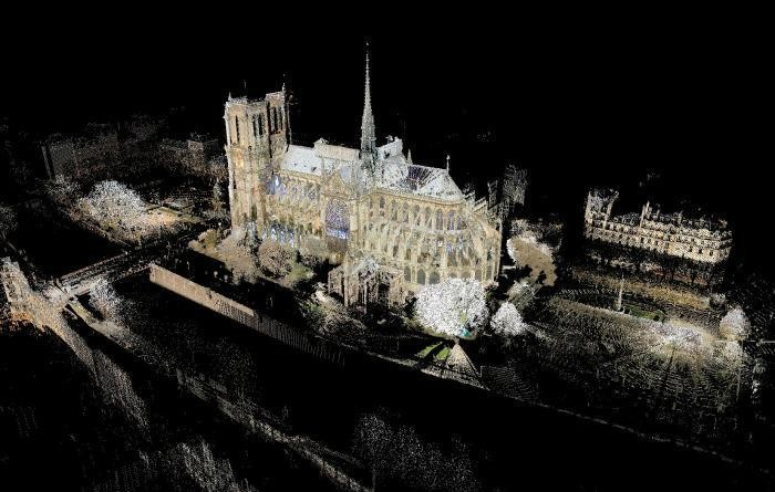 This Digital 3-D Model of Notre-Dame Cathedral Might Be Its Salvation