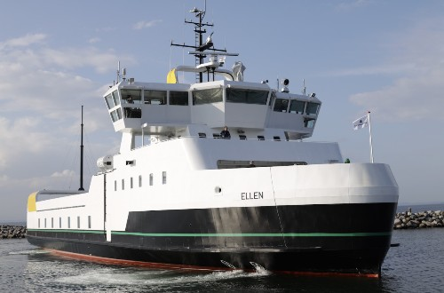 The World's Largest Electric Ferry Has Completed Its Maiden Voyage