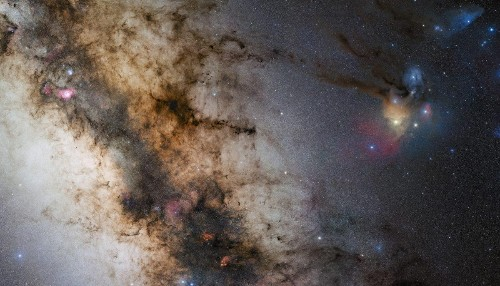 Astronomers Track Bizarre Objects Near Milky Way's Central Black Hole