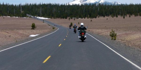 Epic Summer Road Trip? Head For Oregon's Crater Lake On A Motorcycle