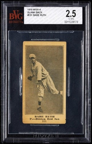 Babe Ruth 1916 Rookie Card Found In 100-Year-Old Piano Skyrockets Past Auction Estimate