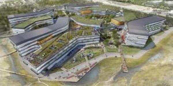 Google Shares Details Of Futuristic New Office Park At NASA