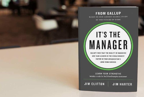 New Book From Gallup: Managers Must Behave Like Coaches, Not Bosses
