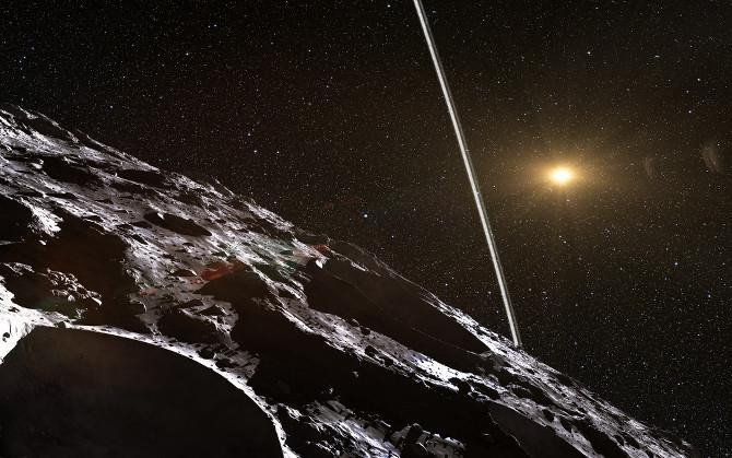 Asteroid Stuns Astronomers With Its Planet-like Icy Rings