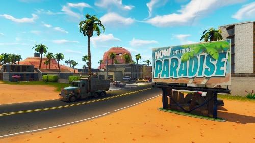 'Fortnite' Paradise Palms Treasure Map: Where To Find The Treasure