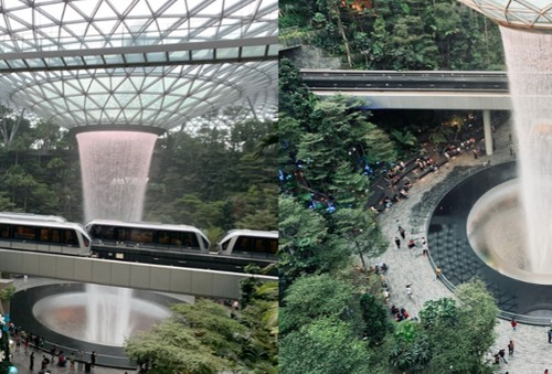 Magic, Nature, Tech, Discovery: Singapore's New Jewel, Considered World's Best Airport Mall