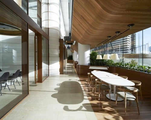 Medibank In Melbourne Champions Green Architecture And Workplace Wellness