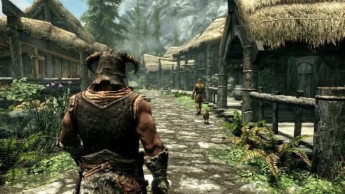 How I Finally Fell In Love With 'Skyrim' This Christmas
