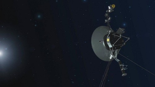 NASA's Voyager-1 Spacecraft Opens Door On New Way To Look For Dark Matter