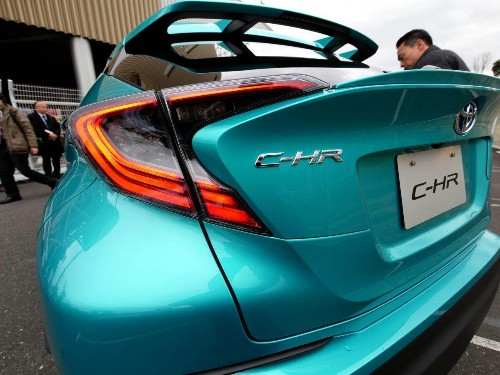 """""""Playful Fun For Adults:"""" Toyota Finally Releases Its C-HR Compact Crossover At Home"""