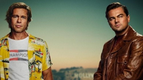 New Poster For Tarantino's 'Once Upon A Time In Hollywood' Features Pitt, DiCaprio And Nothing Else