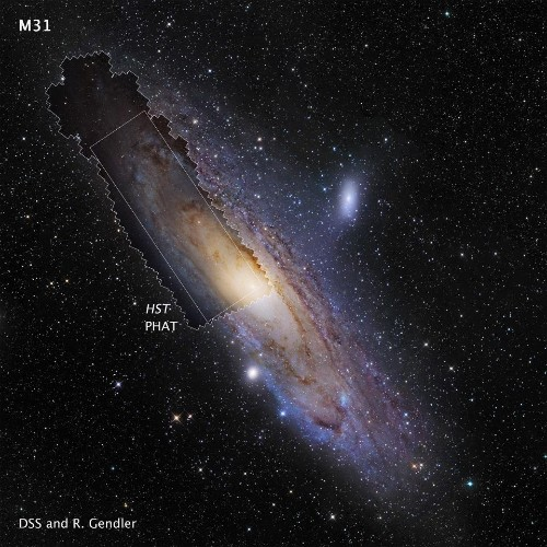 Hubble: Andromeda Is Big, Massive, And Full Of The Stars Our Milky Way Is Missing