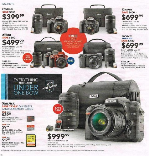 Best Buy 'Black Friday' 2015 Massive Camera Deals
