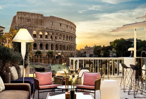 This Luxury Hotel Has The Best View Of The Colosseum