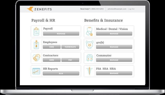 HR Startup Zenefits Raises $500 Million At $4.5 Billion Valuation
