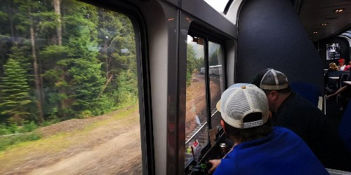 From Chicago To The West Coast On Amtrak's Coach Seats - Part 4