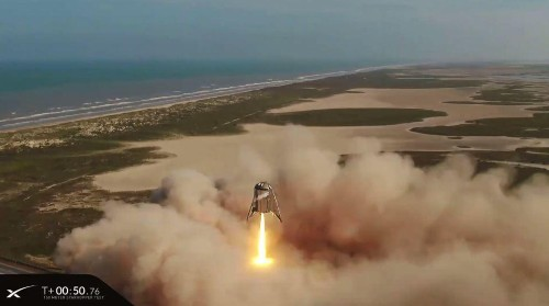 SpaceX Launches Starhopper On Stunning Final Flight, And Takes A Major Step Towards Mars