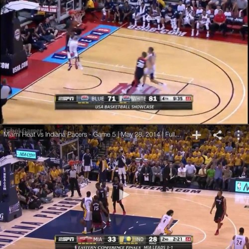 Paul George Injury: Why The Stanchions Were So Close, And How To Fix It.