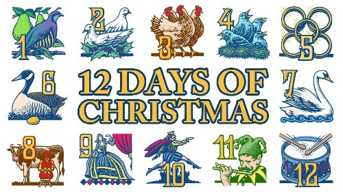 The Twelve Days of Christmas for Investors
