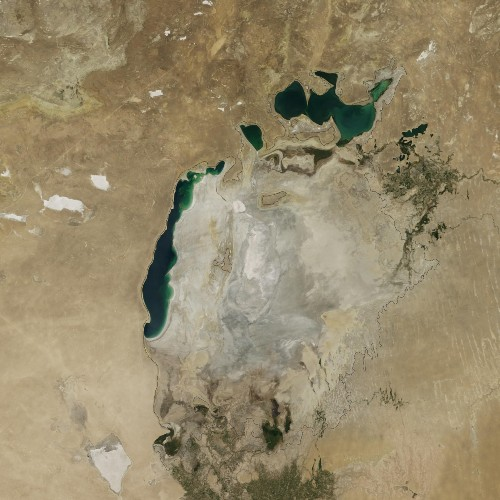 Once World's Fourth Largest Lake, Aral Sea Is Now Nearly Dry
