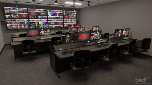 New UFC Apex Facility Looks To Be Perfect For 'EA UFC 4' Esports Competitions