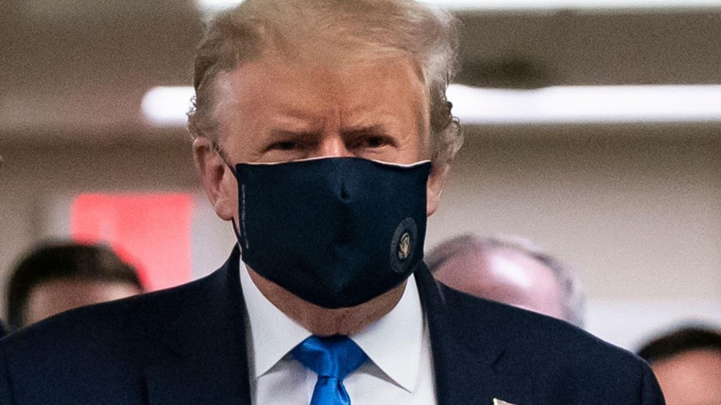 What Trump Finally Wearing A Mask Really Says About His Leadership
