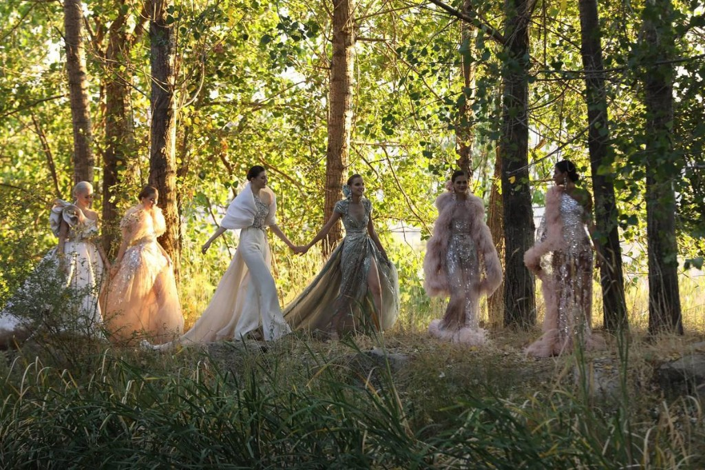 Lebanese Designer Elie Saab Unveils His New Haute Couture Autumn Winter 2020-21 Collection, And It's An Ode To Beirut