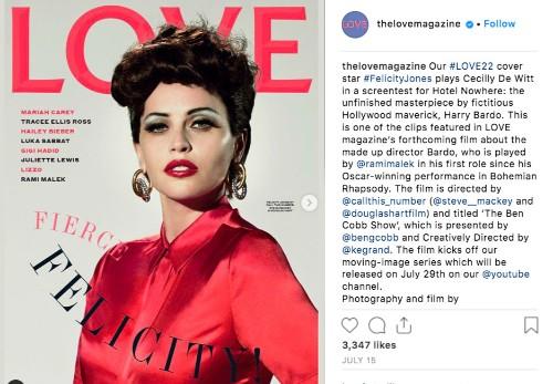 LOVE Magazine Launch Their Latest #MOVINGLOVE Film Starring Rami Malek