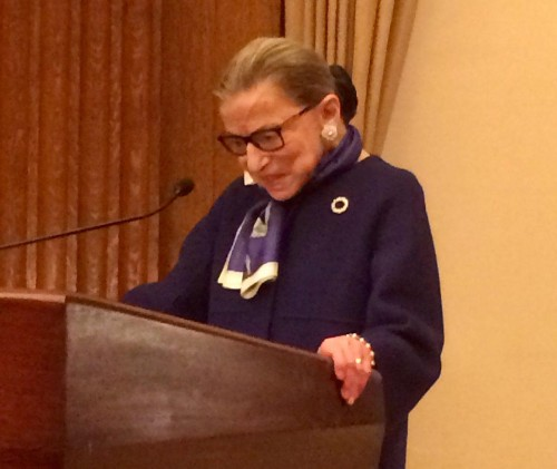 Justice Ginsburg, Music and Bridging Differences