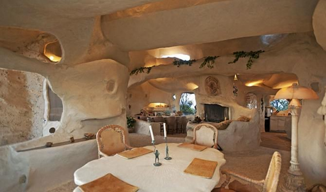 The Late Dick Clark's 'Flintstones House' Gets A Price Chop, Now Listed For $3 Million