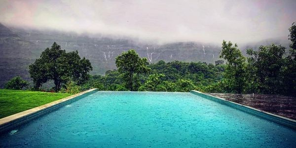 India Monsoon Season At The Stunning New Dharana At Shillim Wellness Retreat Near Mumbai