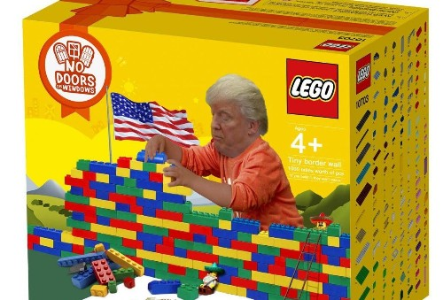 Donald Trump's Border Wall Inspires Lego Fan To Create Funny Design