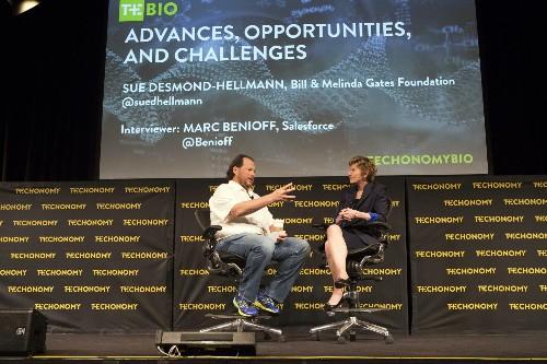 Marc Benioff And Gates Foundation's Desmond-Hellmann Agree: Digital Health So Far Is Pitiful
