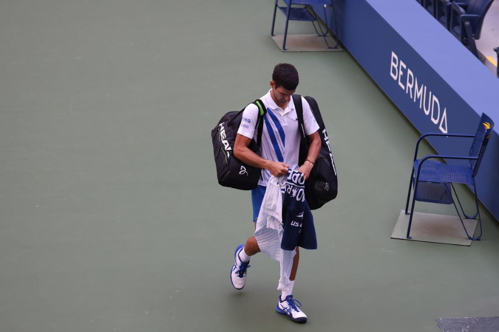 Novak Djokovic' Dramatic U.S. Open Exit Continues Year Of Controversies For Tennis Star